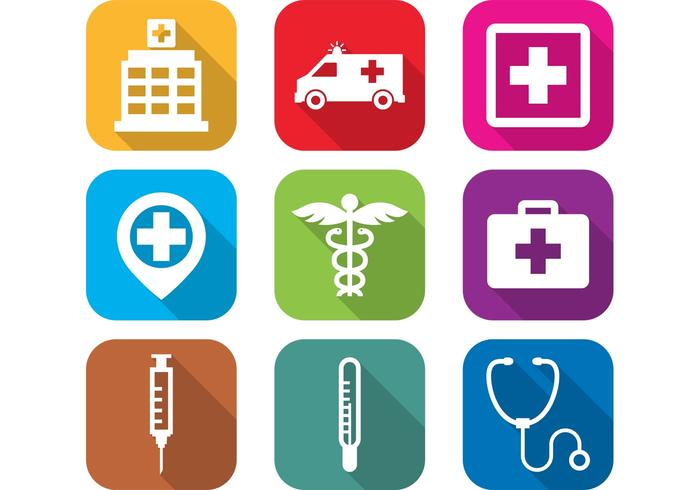 Hospital icon clipart jpg transparent stock Flat Hospital Icons - Download Free Vectors, Clipart ... jpg transparent stock