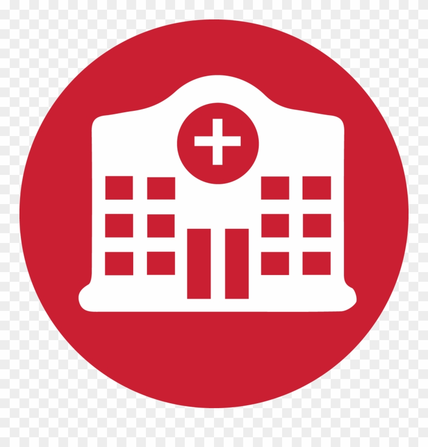 Hospital icon clipart picture free Hospital - Hospital Icon Red Clipart (#1831001) - PinClipart picture free