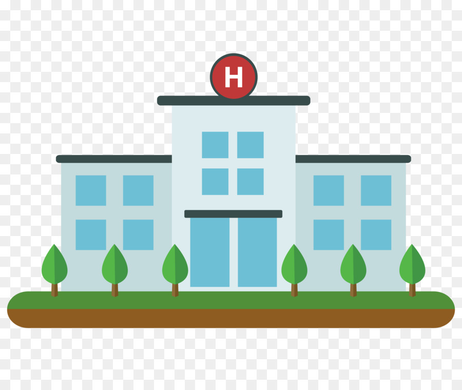 Hospital vector clipart clipart free Hospital Cartoon png download - 4052*3344 - Free Transparent ... clipart free