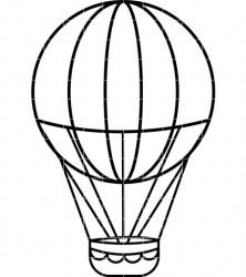 Hot air balloon clipart outline clip art transparent stock Hot Air Balloon Outline | Free download best Hot Air Balloon ... clip art transparent stock