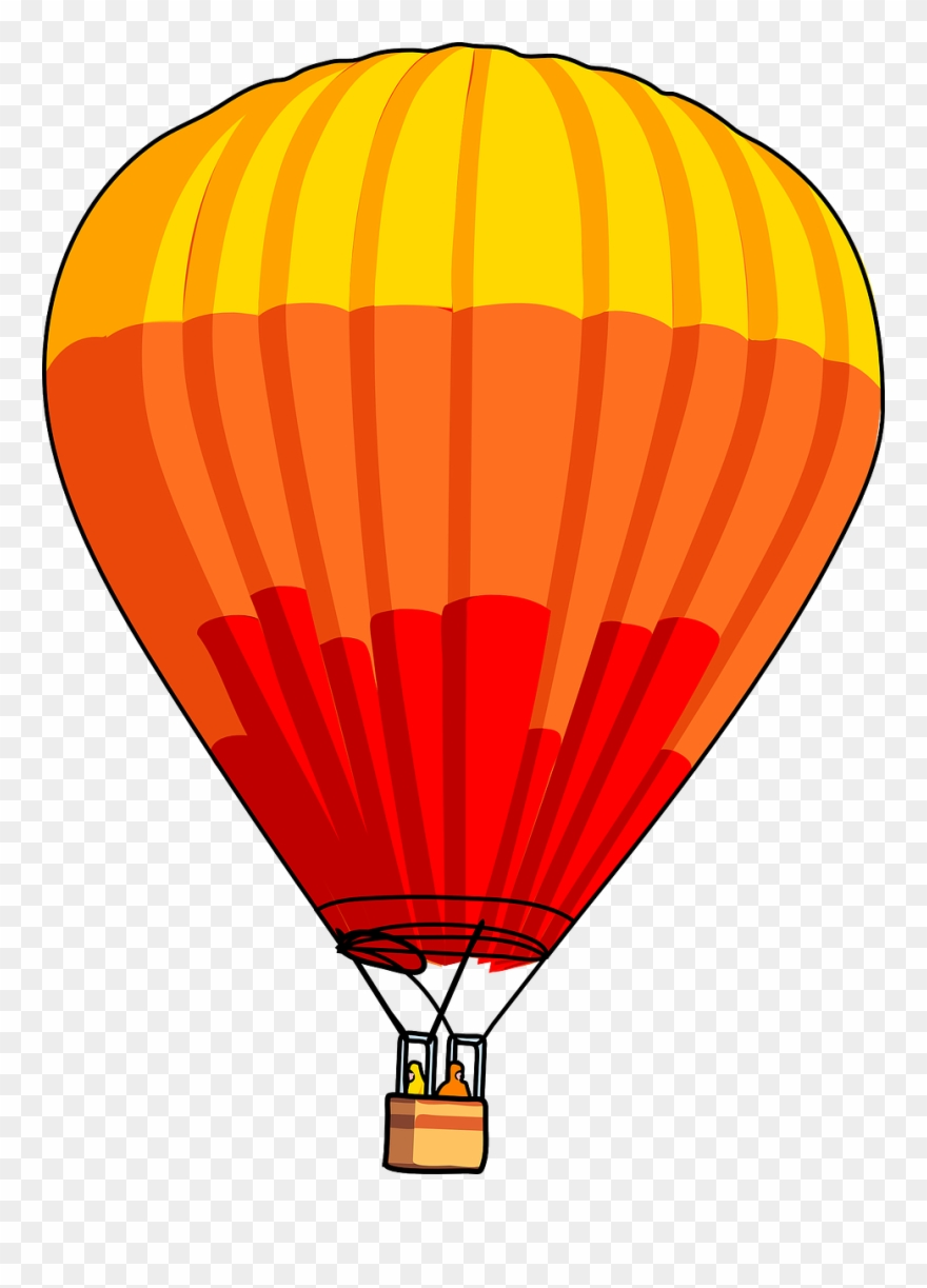 Hot air balloon images clipart vector library stock Vector Clip Art - Hot Air Balloon Clipart - Png Download ... vector library stock