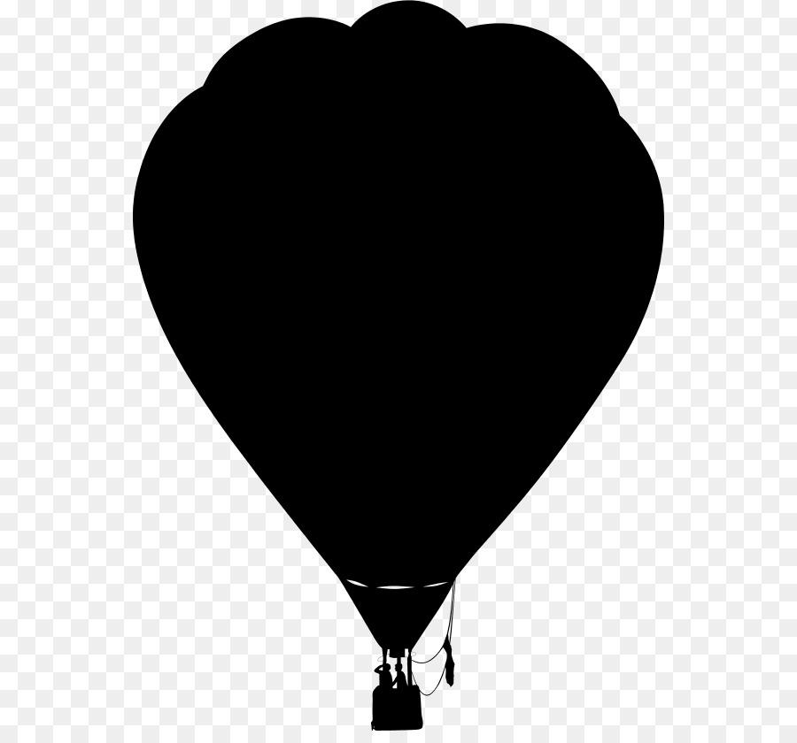 Hot air balloon silhouette clipart vector black and white download Hot Air Balloon Silhouette clipart - Balloon, Silhouette ... vector black and white download
