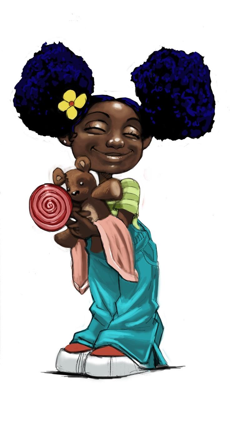Hot cartoon girl clipart png royalty free Little Black Girls Cartoon Clip Art Hot Girls Wallpaper ... png royalty free