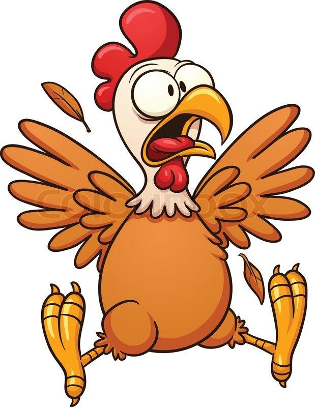 Hot chicken clipart jpg stock Chicken wing crazy checken clipart - WikiClipArt jpg stock