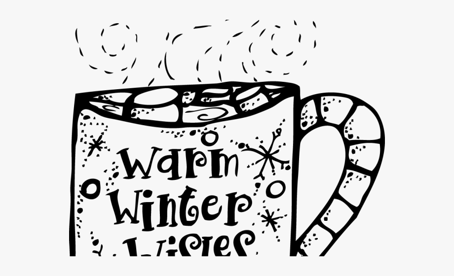 Hot chocolate clipart black and white clipart free Hot Chocolate Clipart Hot Coca - Hot Cocoa Clip Art Black ... clipart free