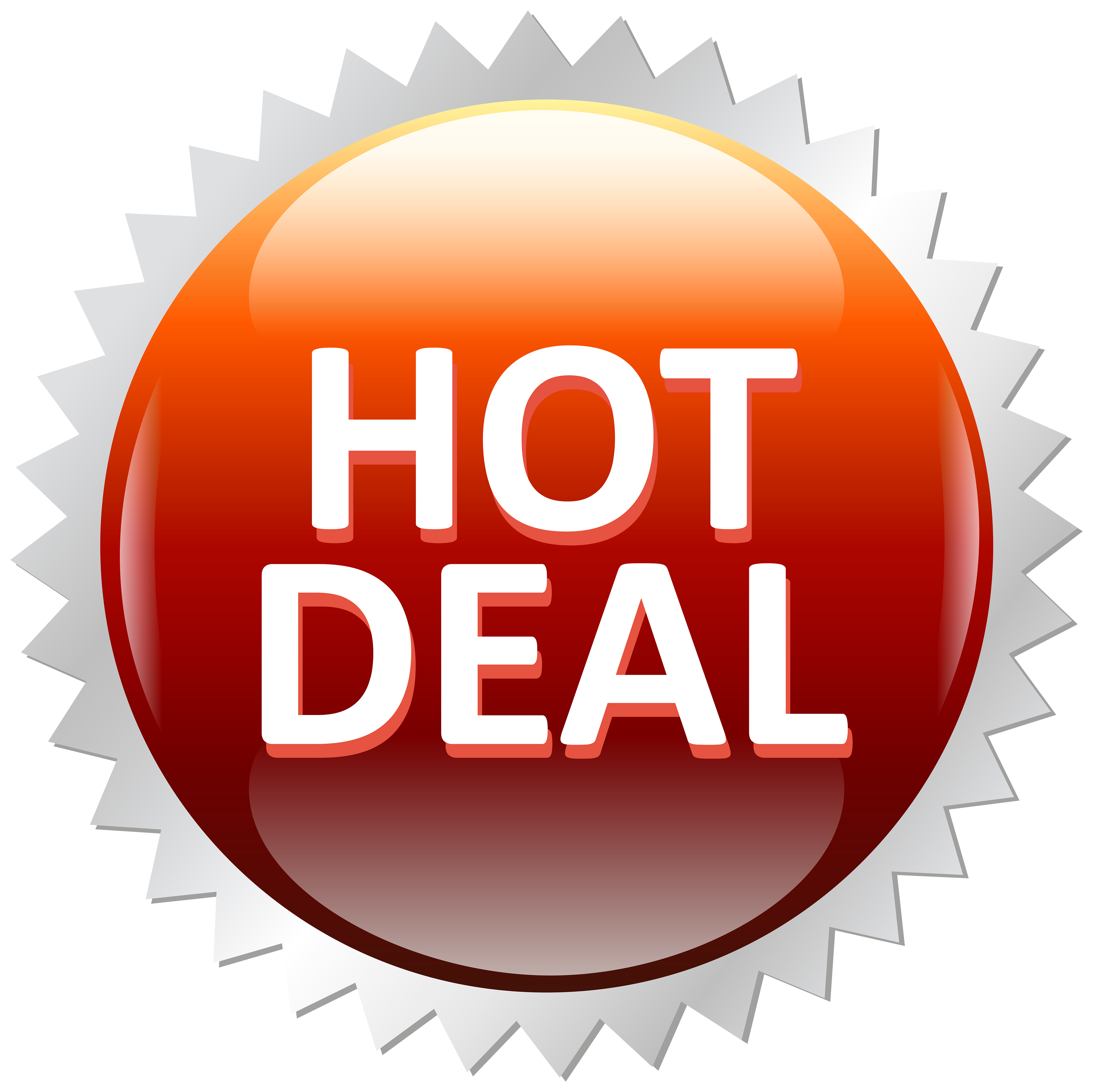 Hot deals clipart clip royalty free library Hot Deal Sale Label PNG Clip Art Image | Gallery ... clip royalty free library