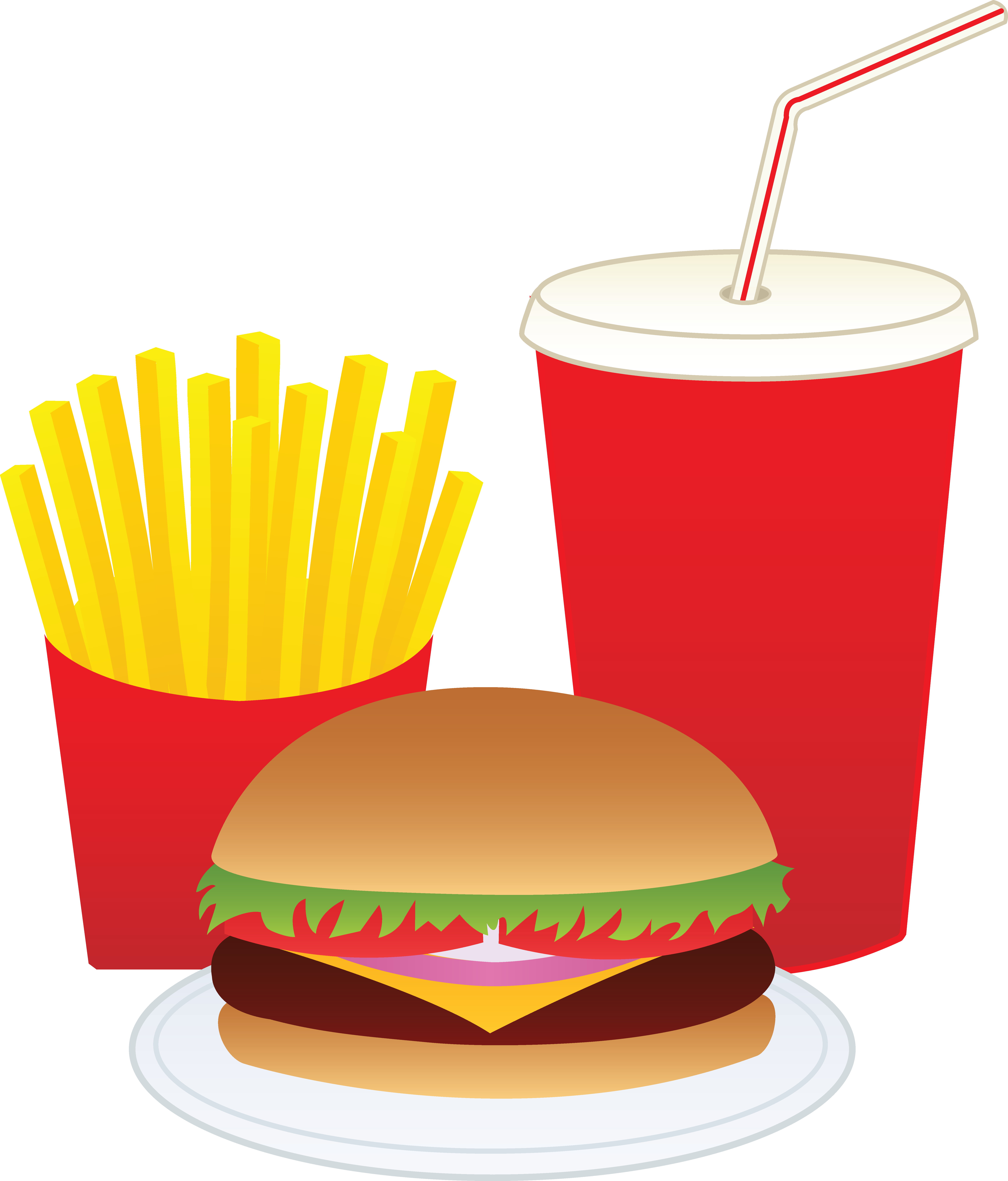 Hot dog and chips clipart banner free stock 28+ Collection of Hamburger And French Fries Clipart | High quality ... banner free stock