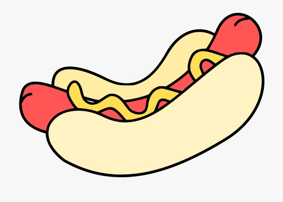 Hot dog cartoon clipart clip art freeuse library Hotdog - Colour - Hot Dog Clip Art , Transparent Cartoon ... clip art freeuse library