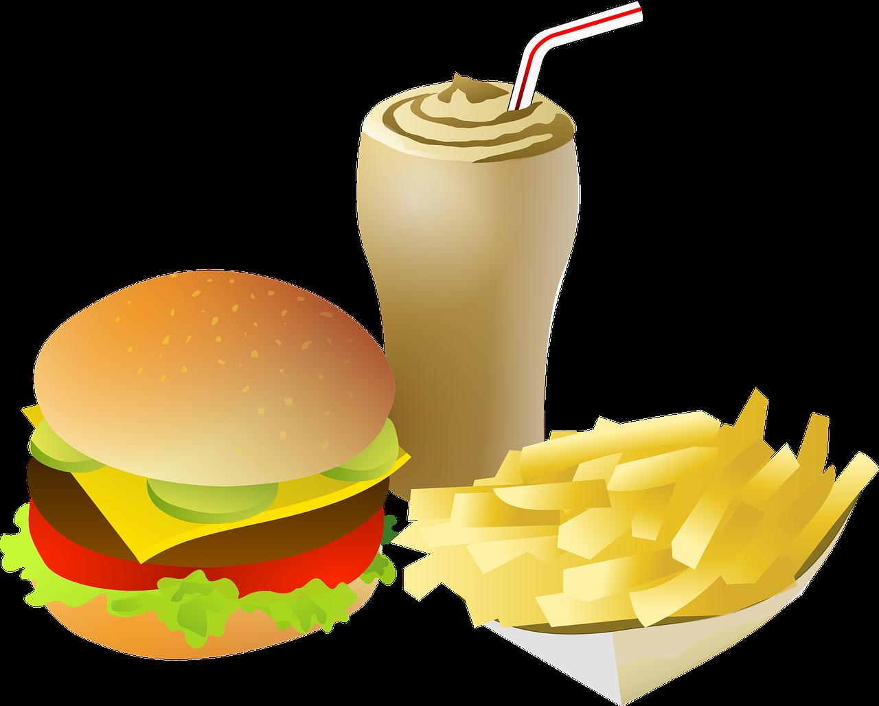 Hot dog chips soda clipart png royalty free download Hamburger And Fries Clipart at GetDrawings.com | Free for personal ... png royalty free download