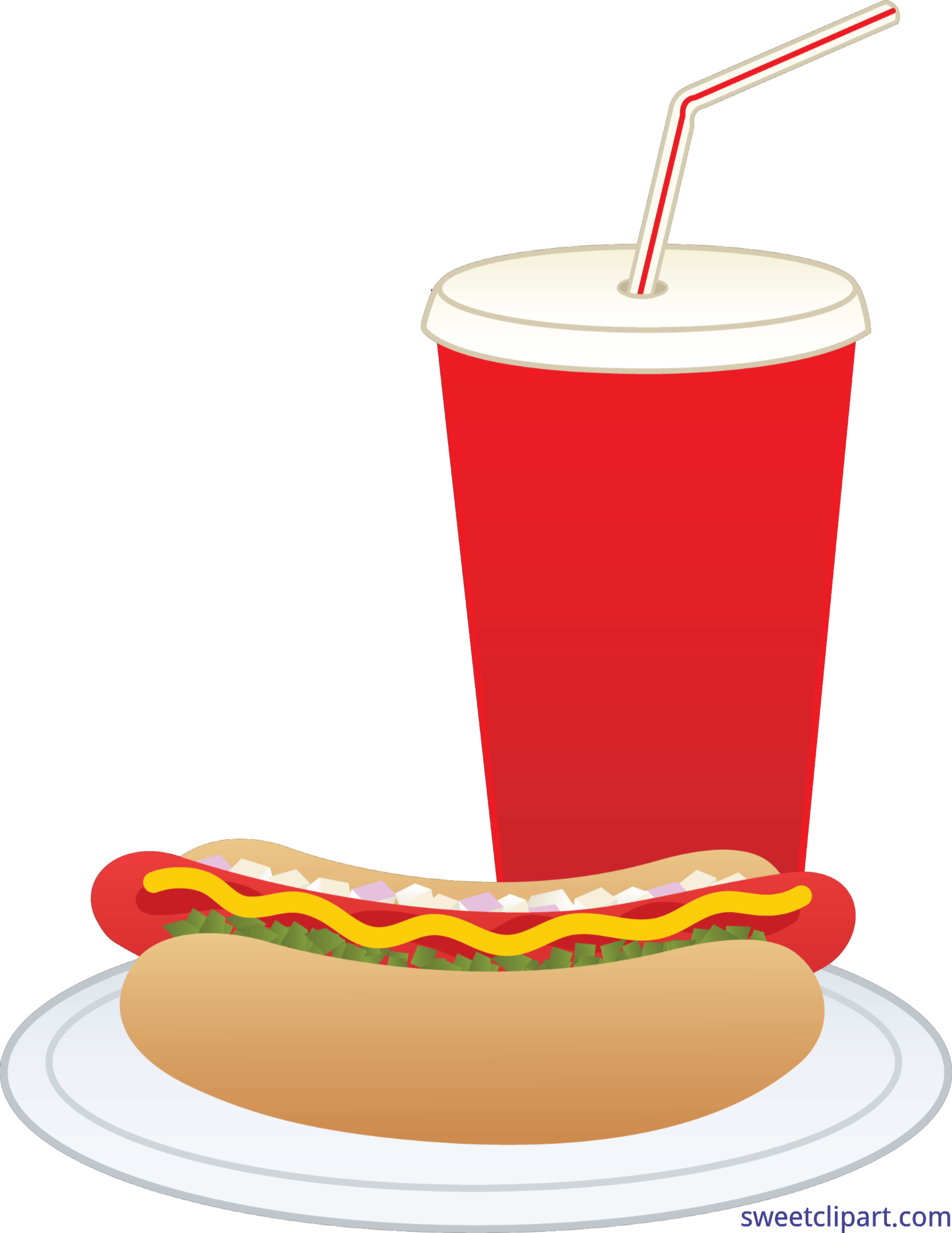 Hot dog chips soda clipart clipart royalty free library Hot Dog Clipart | Free download best Hot Dog Clipart on ClipArtMag.com clipart royalty free library