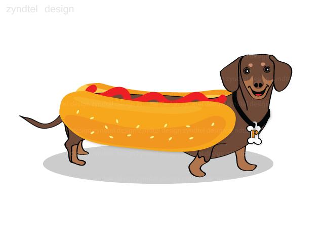 Hot dog dog clipart image transparent download Free Cartoon Hot Dog, Download Free Clip Art, Free Clip Art ... image transparent download