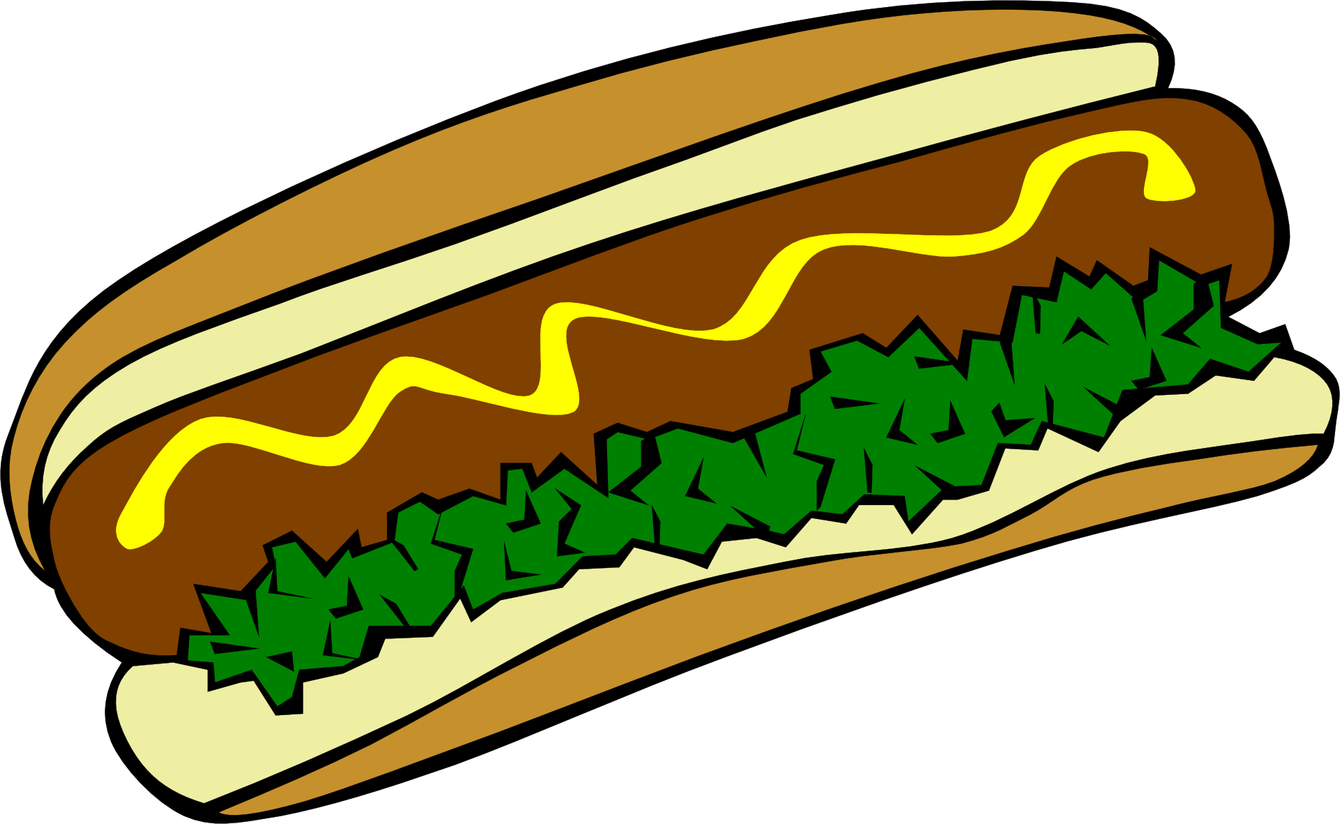 Hot dog grilling clipart picture transparent download Hot dog Hamburger Fast food Barbecue grill Clip art - hot dog 1920 ... picture transparent download
