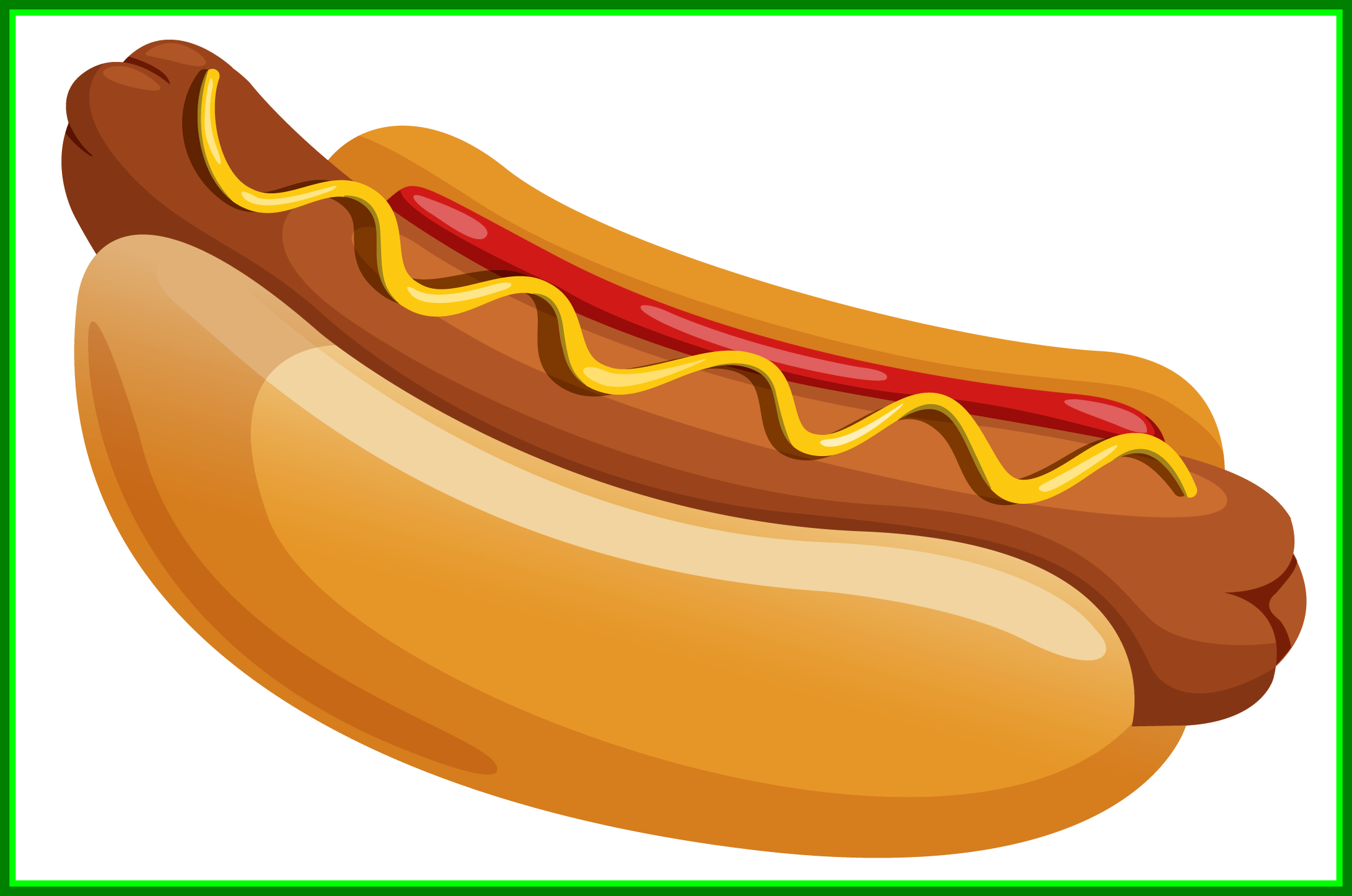 Hot dog in a bun line drawing clipart black and white download Hot Dog Drawing at PaintingValley.com | Explore collection ... black and white download