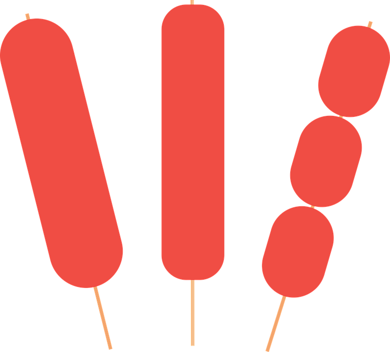 Hot dog on a stick clipart graphic library Hotdog on stick clipart 3 » Clipart Station graphic library