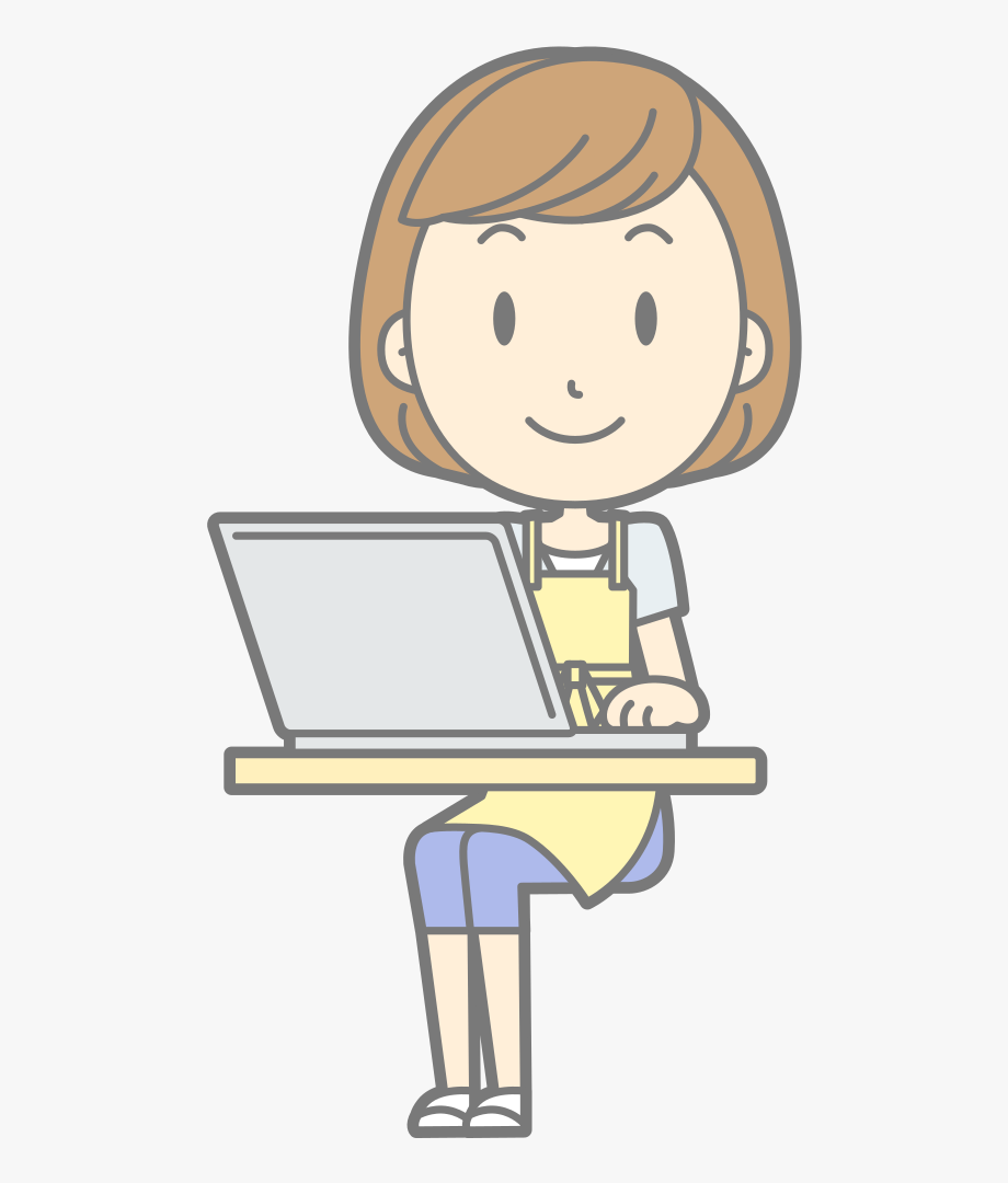 Hot free clipart image royalty free stock Female Computer User - It\'s Hot Clipart , Transparent ... image royalty free stock