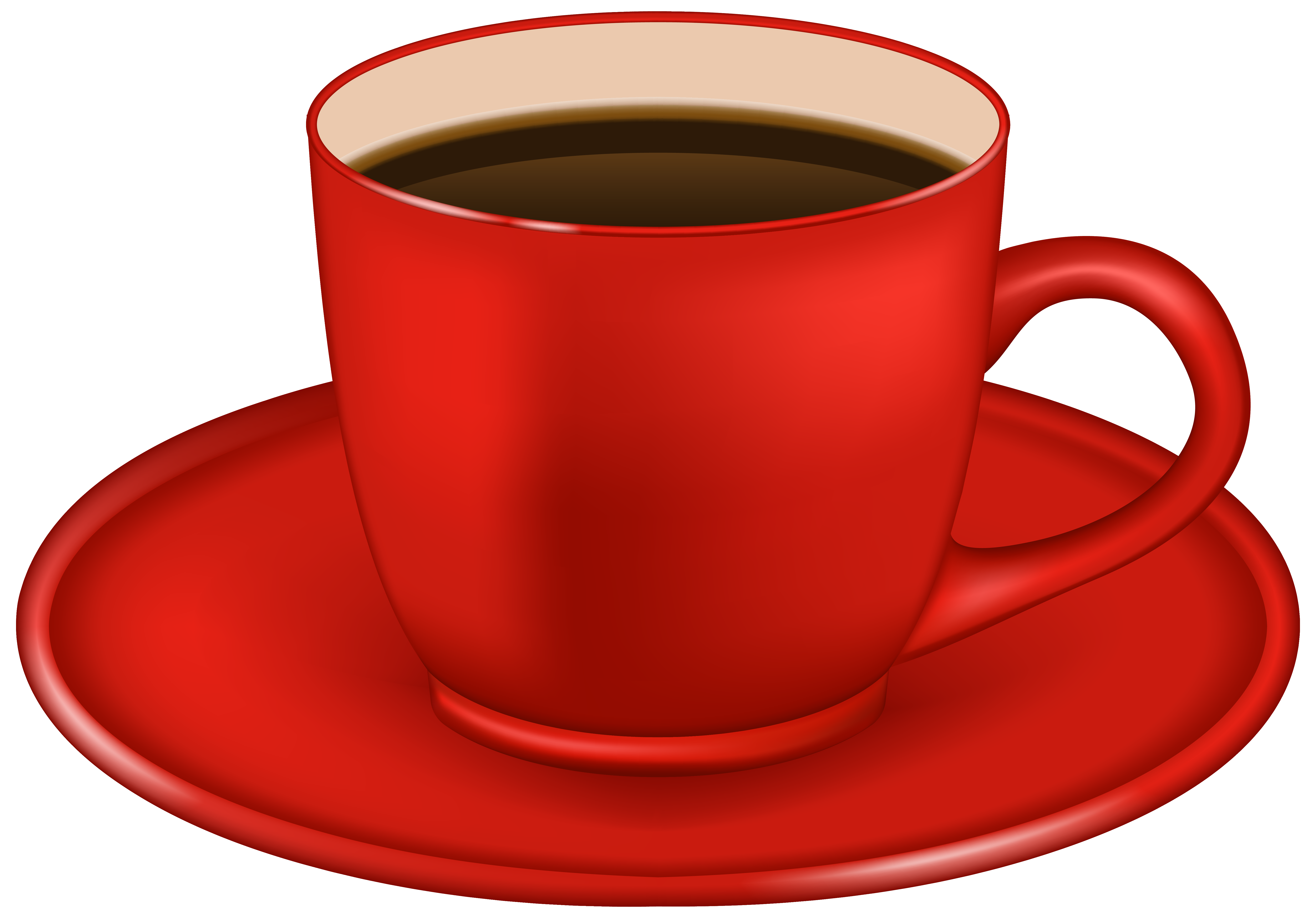 Hot mug of pumpkin latte transparent clipart vector free Red_Coffee_Cup_PNG_Clipart_Image.png (6321×4407) | Coffee, Mocha ... vector free