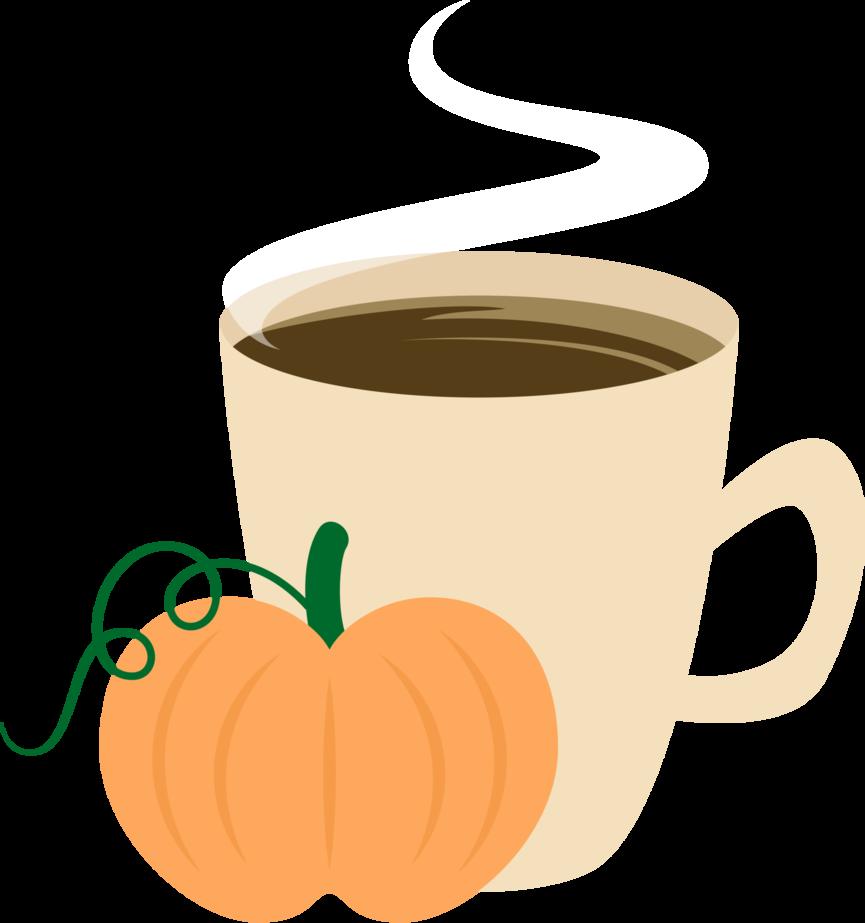 Hot mug of pumpkin latte transparent clipart free library Pumpkin Spice's Cutie Mark [Request] by Lahirien on DeviantArt free library