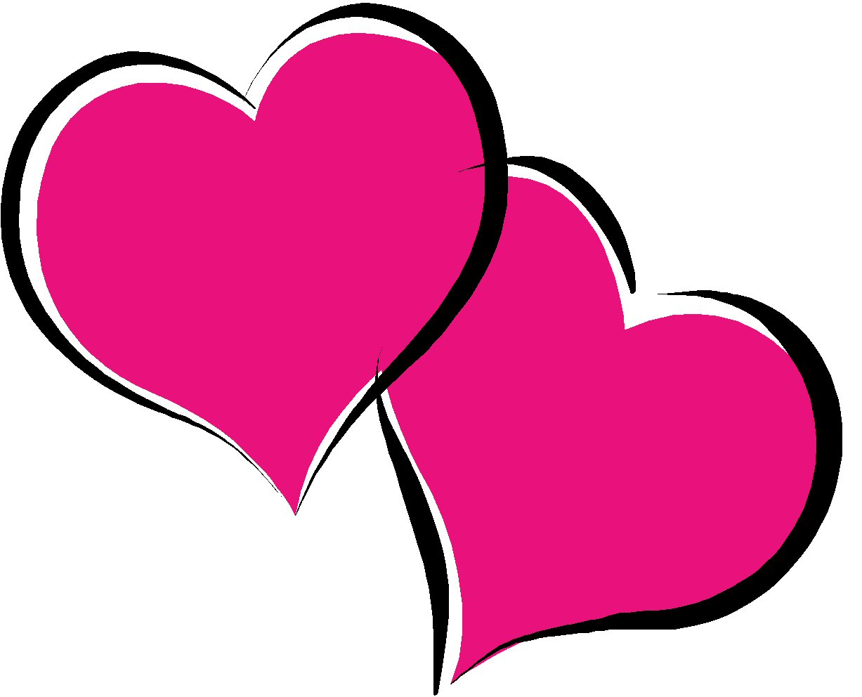 Hot pink clipart