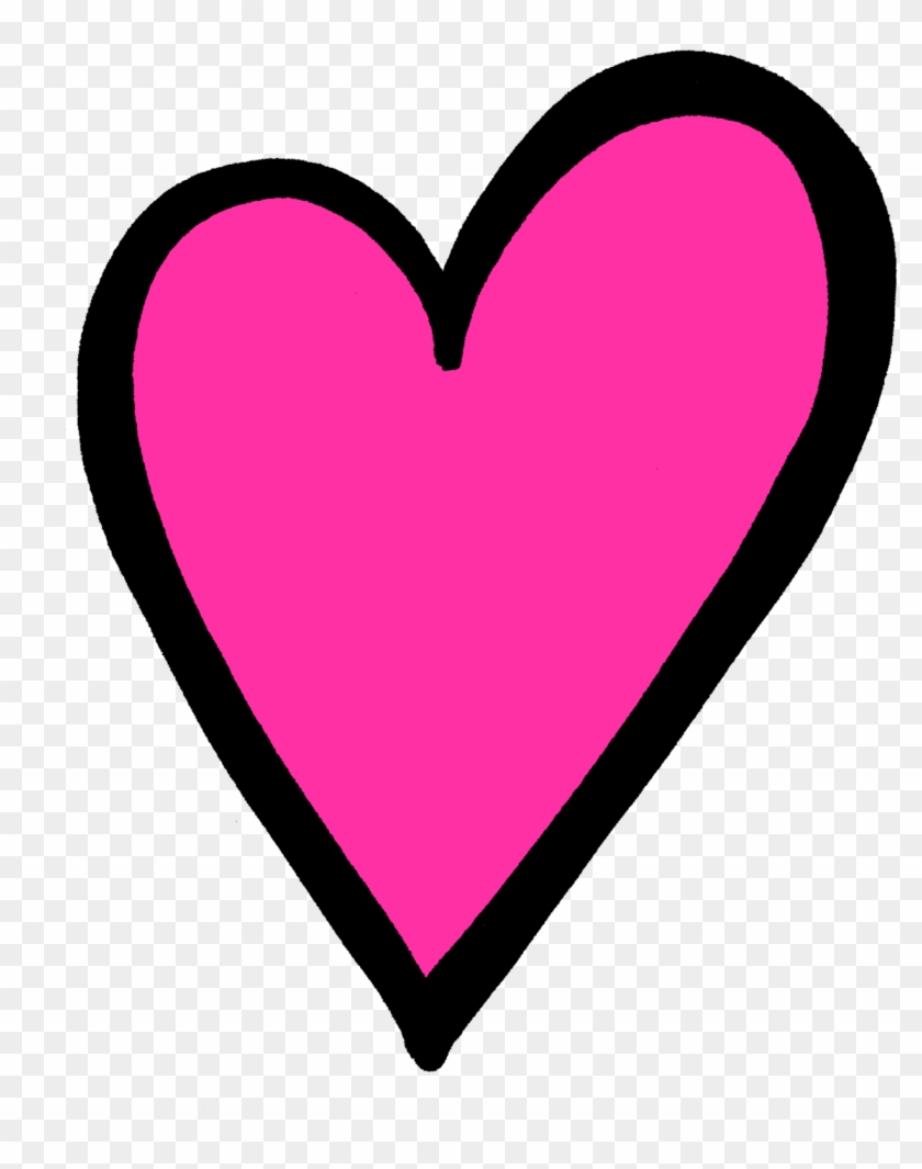 Hot pink clipart picture library library Transparent Pink Heart Clip Art - Hot Pink Heart Png, Png ... picture library library