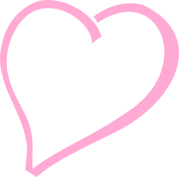Hot pink heart clipart graphic transparent library Single Pink Heart Clip Art at Clker.com - vector clip art online ... graphic transparent library