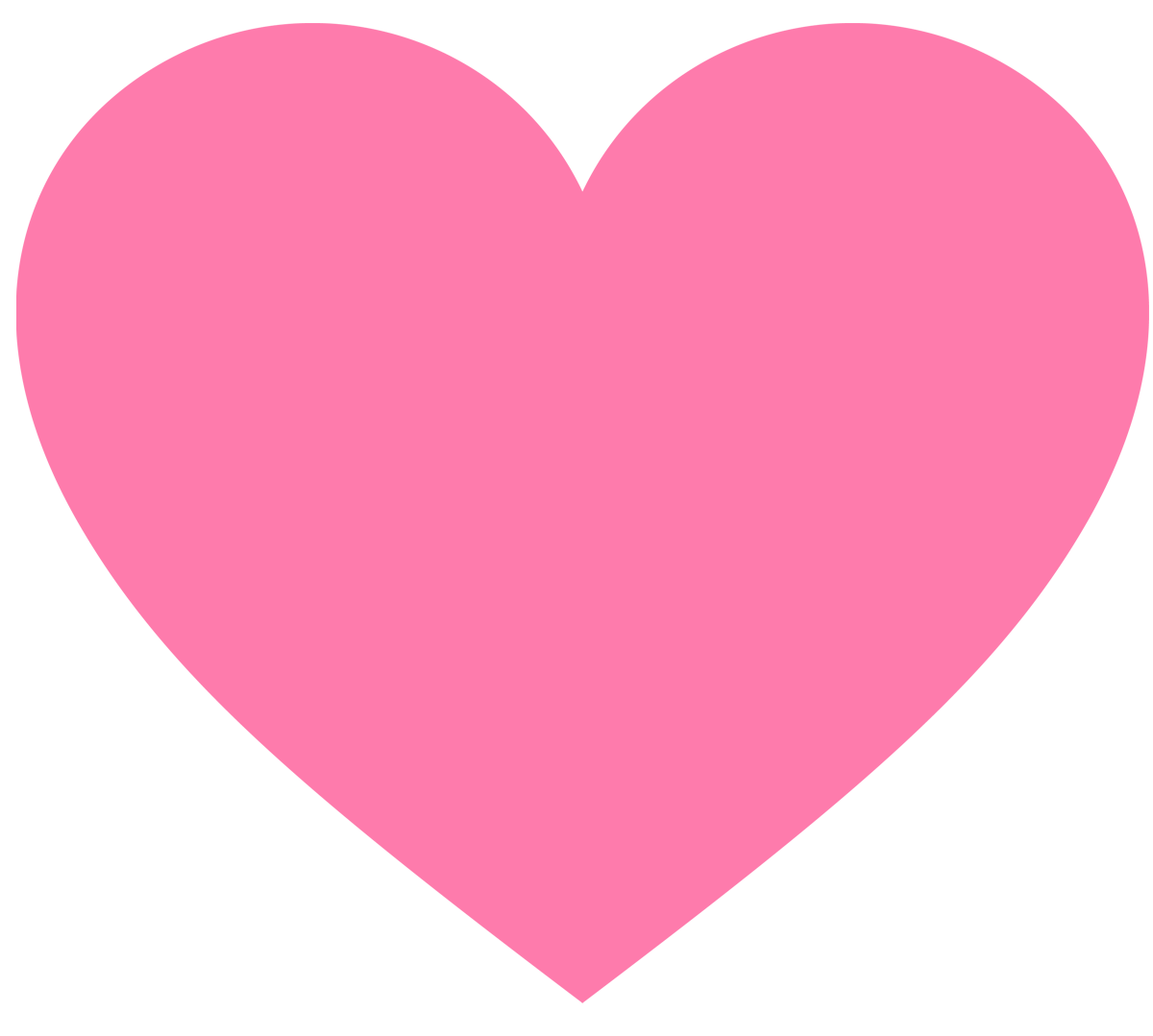 Hot pink heart clipart picture black and white library Hot Pink Heart Clipart | Letters Format picture black and white library