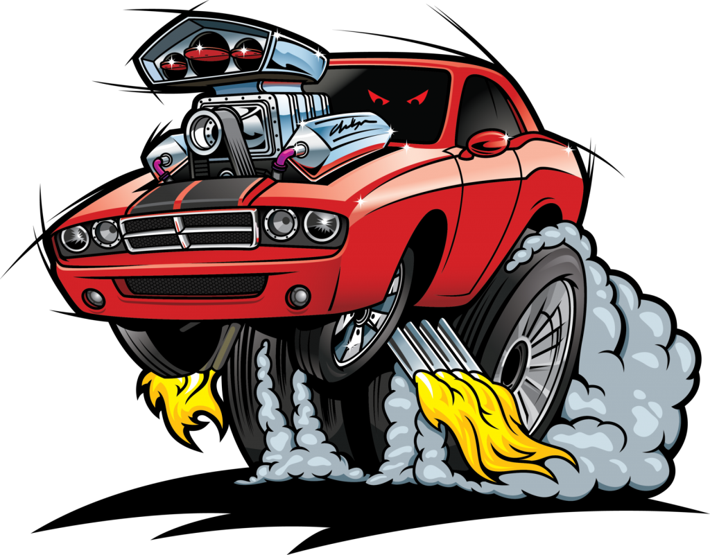 Hot rod car clipart vector free download Flaming hotrod PNG Clipart - Download free images in PNG vector free download