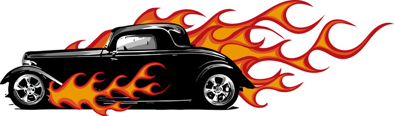 Hot rod with flames clipart clip art library download Free Hot Rod Clipart at GetDrawings.com | Free for personal ... clip art library download