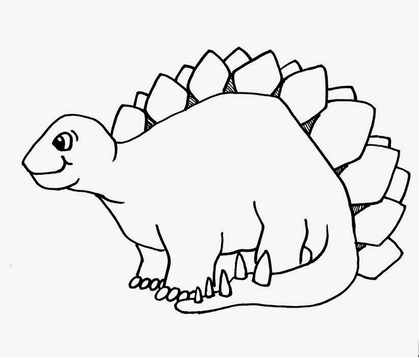 Hot summer dinosaur clipart black and white clip freeuse stock Coloring Pages: Dinosaur Free Printable Coloring Pages ... clip freeuse stock