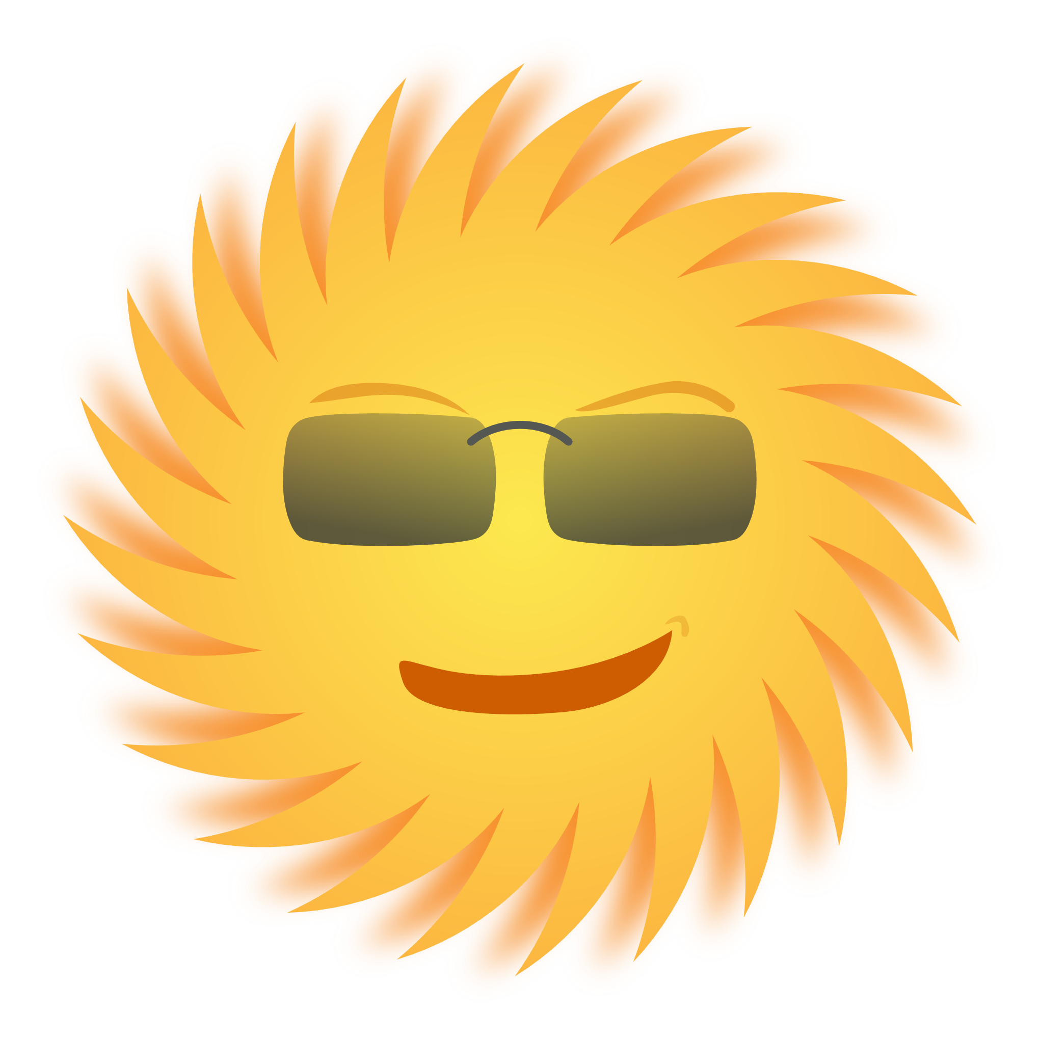 Sun with sunglasses clipart free whitout background clipart library Sun PNG Image - PurePNG | Free transparent CC0 PNG Image Library clipart library