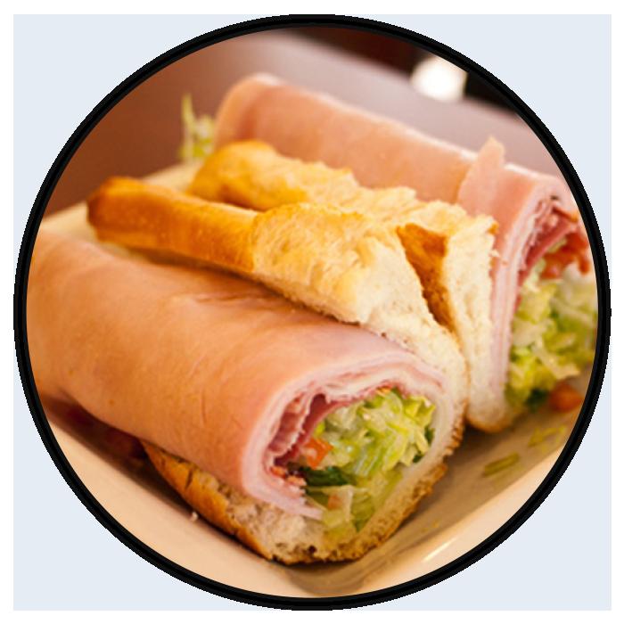 Hot turkey sandwich clipart picture freeuse download Menu - Viola's Deli picture freeuse download