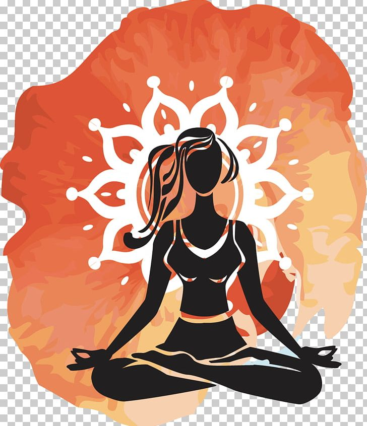 Hot yoga clipart svg freeuse Yoga Girl Meditation Hot Yoga PNG, Clipart, Art, Black ... svg freeuse