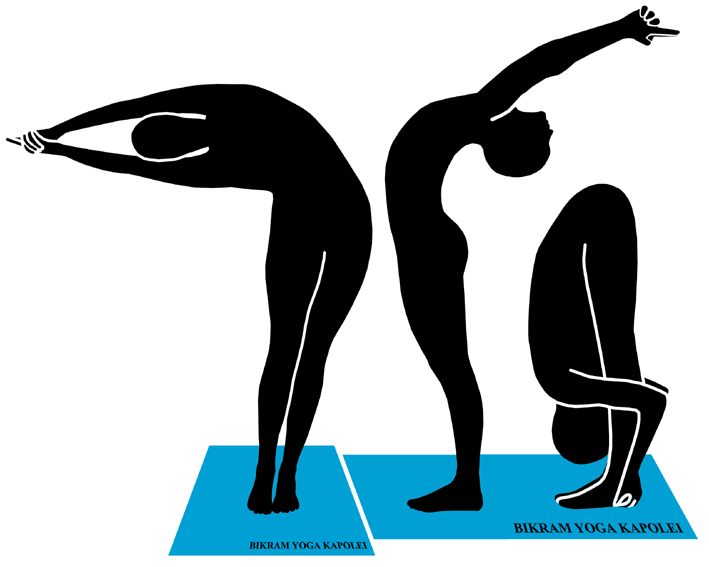Hot yoga clipart graphic black and white download The Bikram Yoga Postures with Selected Benefits | Bikram ... graphic black and white download