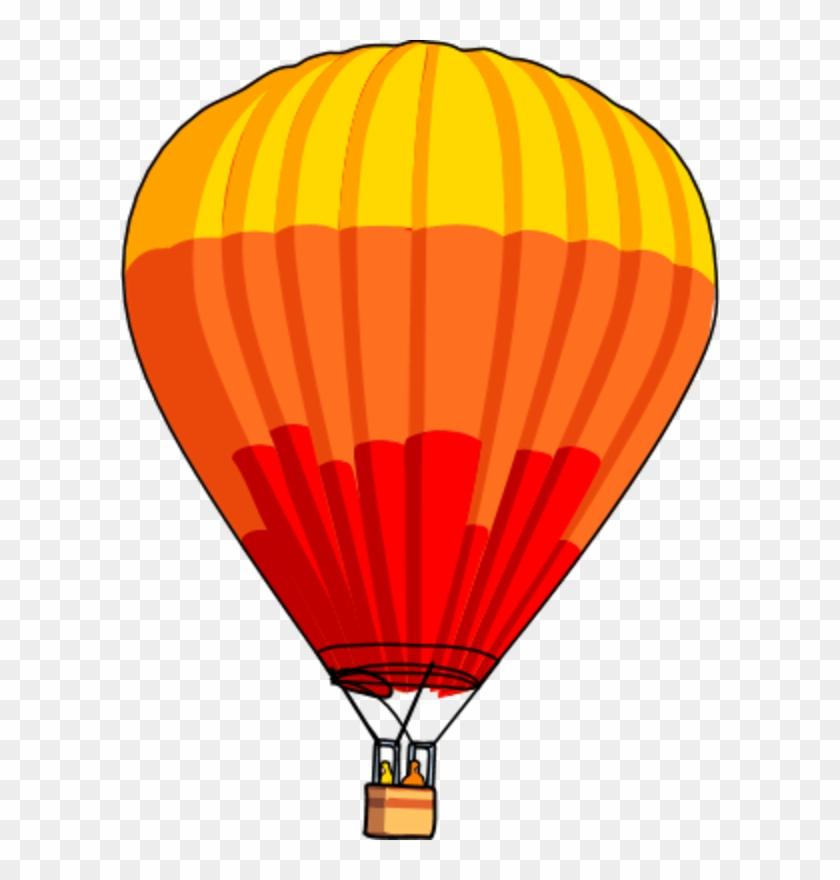 Hotair balloon clipart svg black and white Hot Air Balloon Clipart, HD Png Download - 535x720(#133722 ... svg black and white