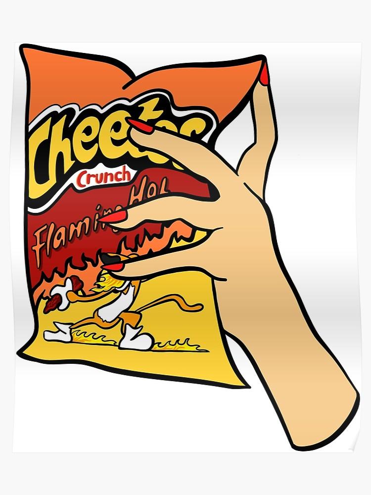 Hotcheetos clipart clip library download Flaming Hot Cheetos | Poster clip library download