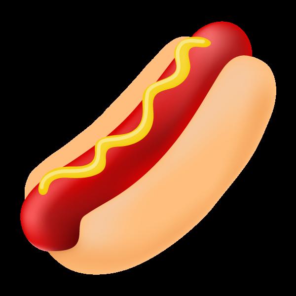 Dog clipart jpg vector stock Hotdog clipart super dog - ClipartFest vector stock
