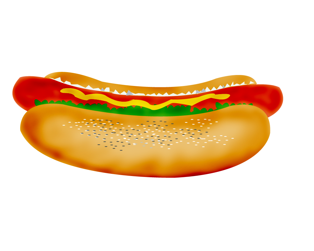 Hotdog clipart super dog vector free stock Burger and hotdog clipart - ClipartFest vector free stock