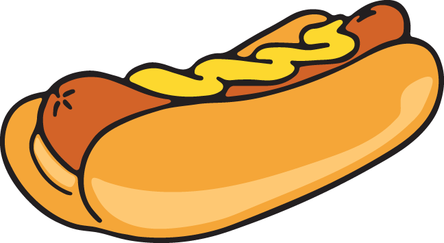 Hotdogs clipart graphic royalty free stock 573 hot dog | Clip Art from OldCuts.co in 2019 | Hot dogs ... graphic royalty free stock