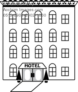 Hotel clipart black and white banner royalty free library Hotel clipart black and white 1 » Clipart Station banner royalty free library