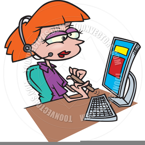 Hotel reception clipart clipart freeuse library Hotel Receptionist Clipart | Free Images at Clker.com ... clipart freeuse library