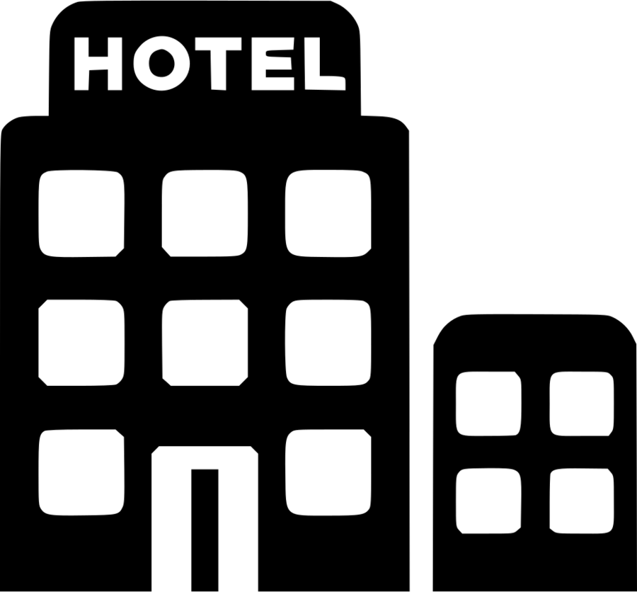 Hotel symbol clipart svg royalty free download Communication Icon clipart - Hotel, Black, Text, transparent ... svg royalty free download