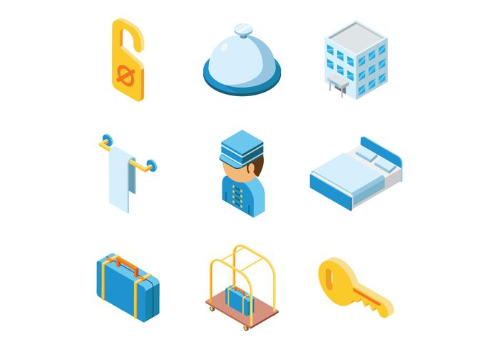 Hotel vector clipart graphic royalty free Free Isometric Hotel Vector - Download Free Vectors, Clipart ... graphic royalty free