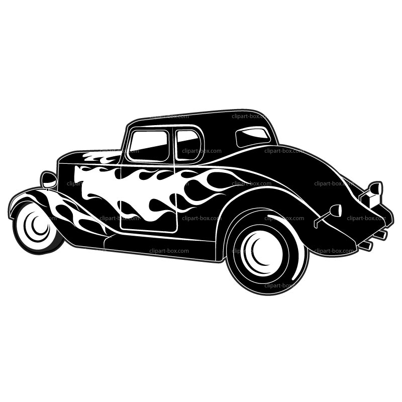 Hotrod clipart graphic black and white library 46+ Hot Rod Clip Art | ClipartLook graphic black and white library