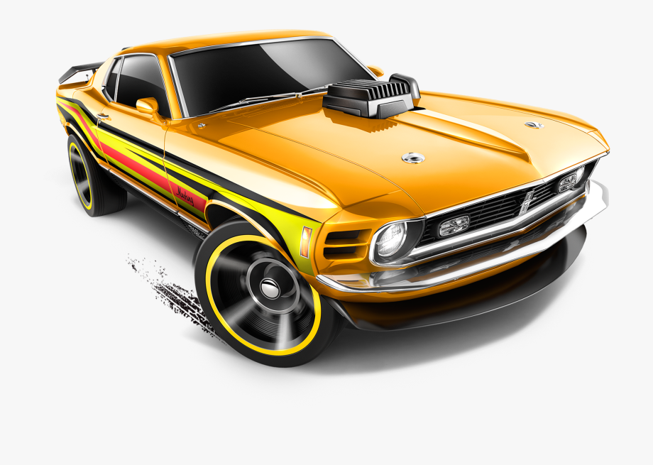 Hotweheels clipart clipart free library Mattel, Hot Wheels Diecast Car, \'70 Ford Mustang Mach - Hot ... clipart free library