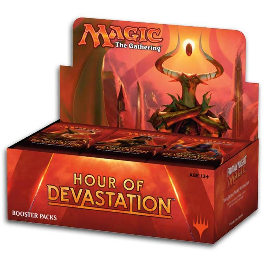 Hour of devastation clipart black and white Magic The Gathering Hour of Devastation Booster Box - 36 ... black and white