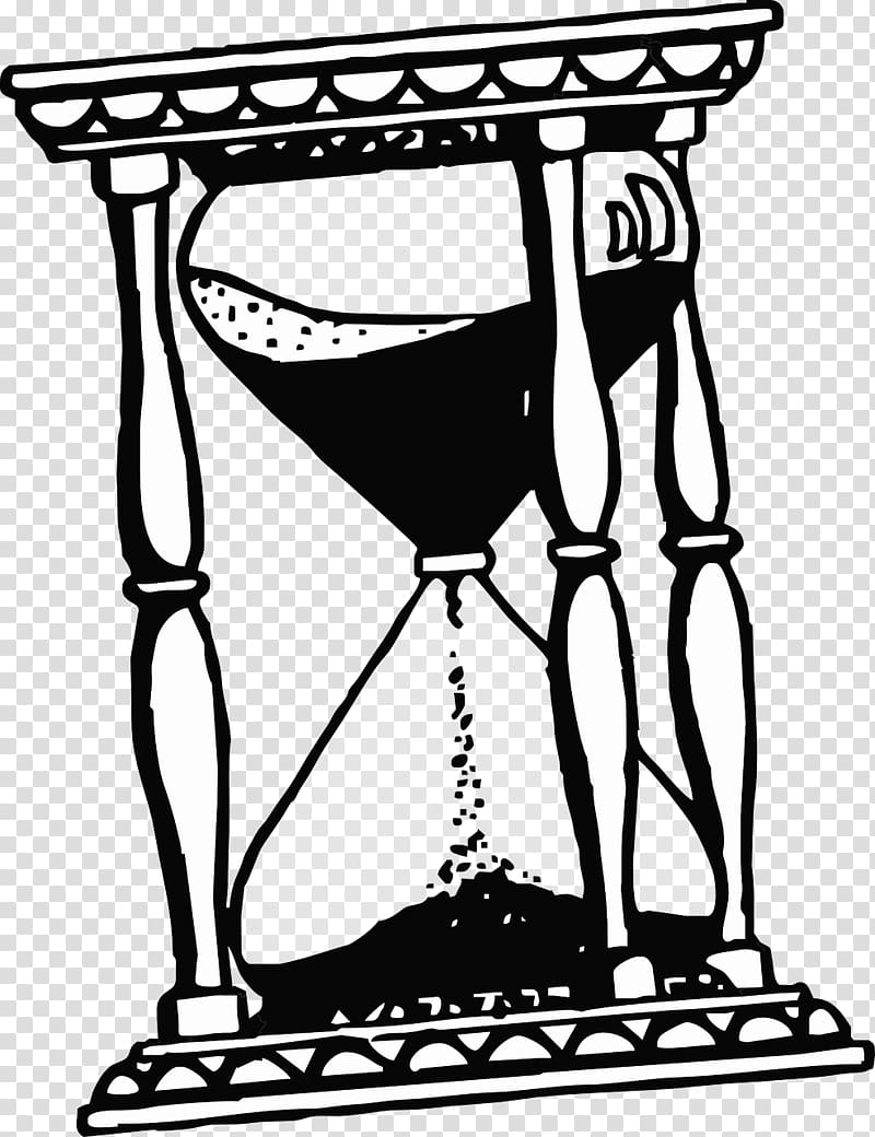 Hourglass clipart black and white banner royalty free stock Hourglass Art Time , Hourglass transparent background PNG ... banner royalty free stock