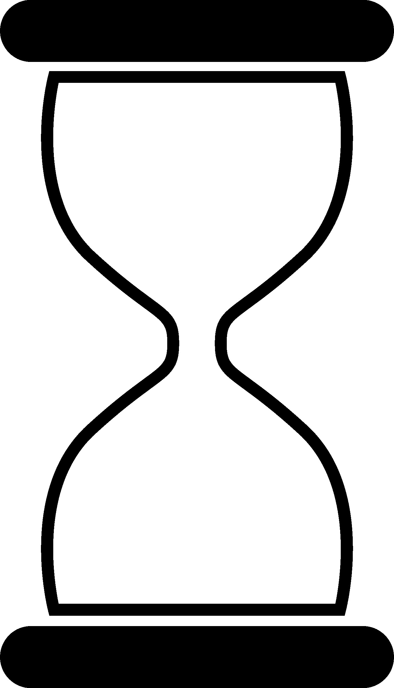 Hourglass clipart black and white banner library library Hourglass Clipart   salaharness.org banner library library