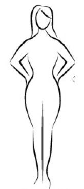 Hourglass figure clipart picture royalty free download Best workout for your body shape   Lets get Physical   Fun ... picture royalty free download