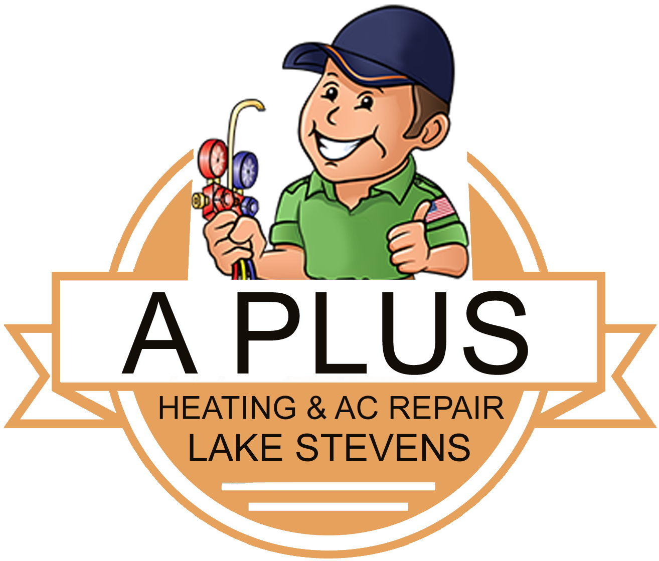 House ac unit clipart banner royalty free stock Heating And Air Conditioning Lake Stevens - Emergency Heating And AC ... banner royalty free stock