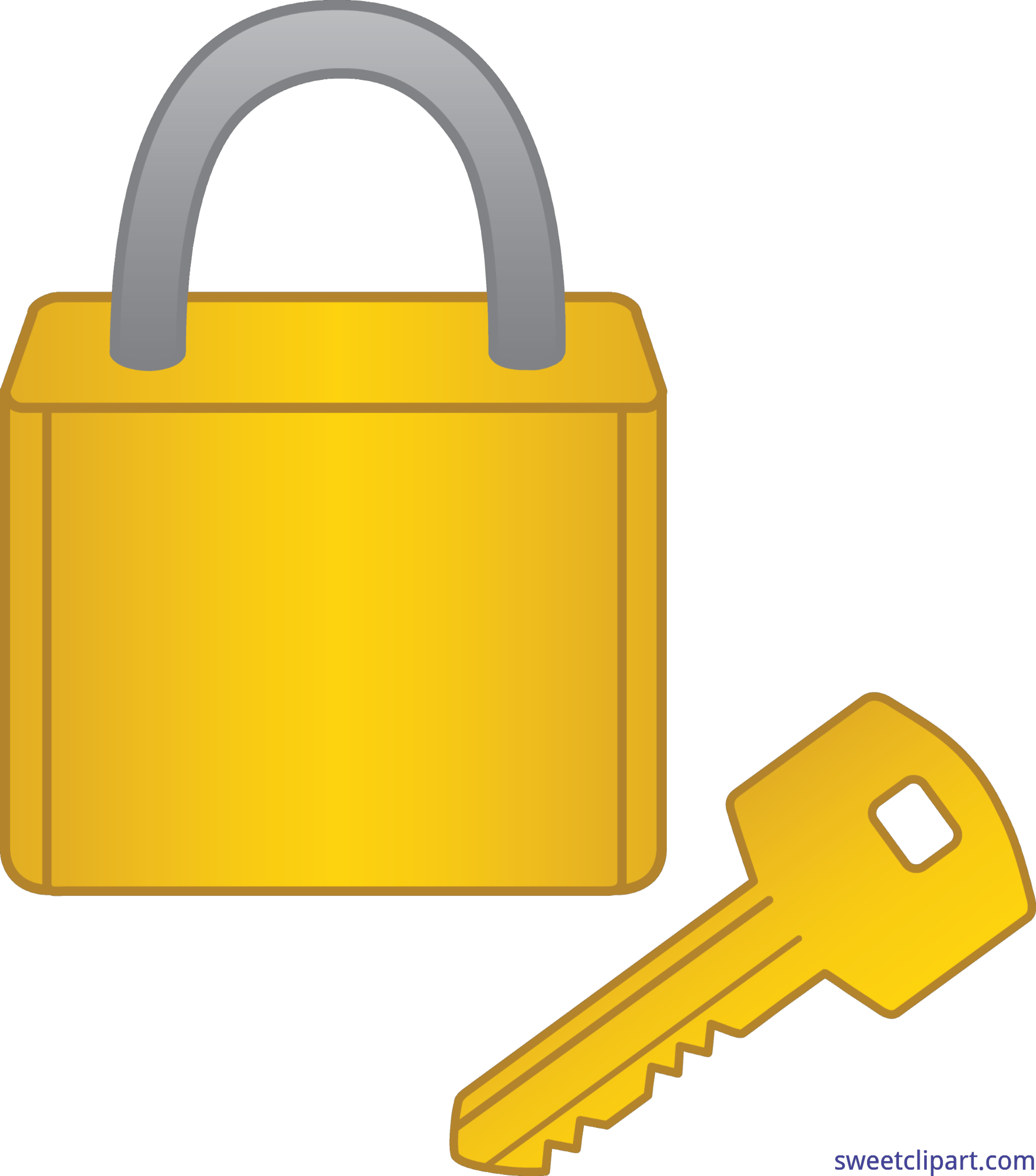 Key to house clipart png free download Lock And Key Clip Art - Sweet Clip Art png free download