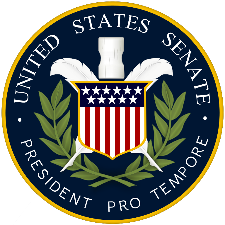 House and senate clipart png royalty free stock File:President Pro Tempore US Senate Seal.svg - Wikimedia Commons png royalty free stock